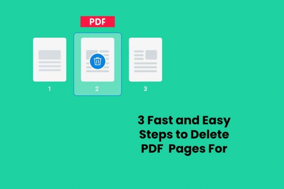3 Fast and Easy Steps to Delete PDF Pages For Free